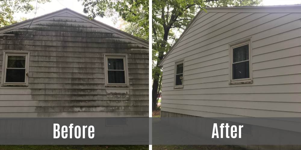 before-after-siding-power-washed